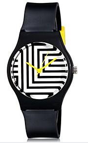Infantil Relógio de Pulso Quartz Colorido Plastic Banda Doce / Legal / Casual Preta / Branco / Azul marca