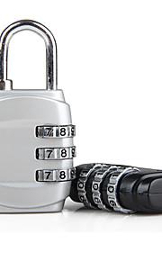 23mm bagage låsa slumpmässiga färger