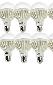 5W E26/E27 LED-globepærer A60(A19) 9 SMD 5630 400 lm Varm hvit / Kjølig hvit Dekorativ AC 220-240 V 10 stk.