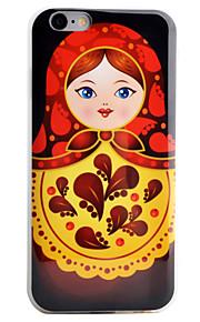 Coque Motif Fleur TPU Doux Couverture de cas pour Apple iPhone 6s Plus/6 Plus / iPhone 6s/6 / iPhone SE/5s/5