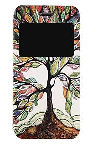 풀 바디 튀기다 / 패턴 나무 인조 가죽 하드 케이스 커버를 들어 Apple 아이폰 7 플러스 / 아이폰 (7)