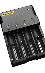 nitecore i4 intellicharge universell smarta batteriladdare