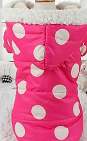 Lovely  Polka Dots Keep Warm Pet Hoodie