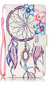 Ganzkörper Kartenhalter / Brieftasche / mit Ständer / Flip / Muster Traumfänger PU - Leder Hart Fall-Abdeckung für LG LG K7
