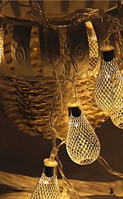 28 под руководством 5м кованого железа выдолбить свет водонепроницаемый штекер открытый свет украшения рождества праздник вел свет шнура
