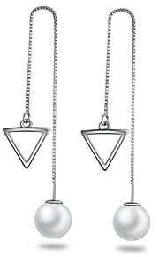 Øreringe Round Shape / Square Shape / Triangle Shape Smykker 1 par Frynsetip(s) / Mode / Yndig / PersonlighedBryllup / Party / Daglig /