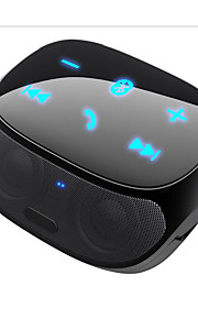 New Pin Bluetooth Speakers Touch Wireless Hands-Free Portable Phone Two Speakers Sound Smart Card