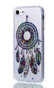 sognare filo di materiale modello disegno cassa del telefono TPU trasparente catcher per iPhone 7 6S 6 Plus