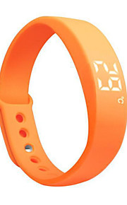 Silent Alarms Vibration Alert Sleep Monitor Running Walker Track Calorie Smart Sports Bracelet