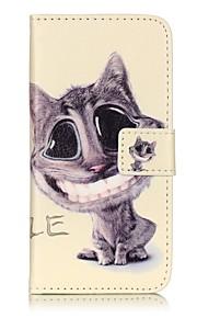 Ganzkörper Brieftasche / Flip Katze PU - Leder Hart Fall-Abdeckung für Apple iPhone 7 plus / iPhone 7