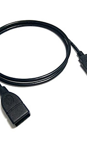 USB 2.0 A Male to A Female Extension Cable Cord Wire Lead For PC Laptop