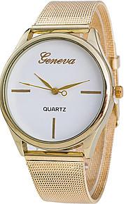 Masculino Relógio de Pulso Quartz / Lega Banda Legal / Casual Dourada marca