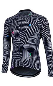 Men Winter Thermal Fleece MTB Bike Bicycle Sweat Long Sleeve Cycling Jersey Outdoor Sport Running Jacket