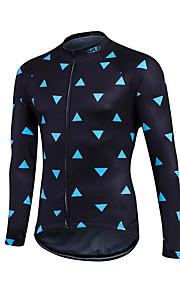Esportivo Camisa para Ciclismo Mulheres / Homens / Crianças / Unissexo Manga Comprida MotoRespirável / Mantenha Quente / Secagem Rápida /