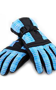 Full-finger Gloves / Winter Gloves Women's / Men's Keep Warm / Waterproof Ski & Snowboard / Snowboarding PU