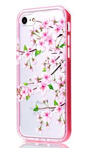 Per Custodia iPhone 7 / Custodia iPhone 6 / Custodia iPhone 5 Transparente / Fantasia/disegno Custodia Custodia posteriore CustodiaFiore