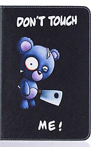 Für Kreditkartenfächer / mit Halterung / Flipbare Hülle / Muster Hülle Handyhülle für das ganze Handy Hülle Tier Hart PU - Leder Apple