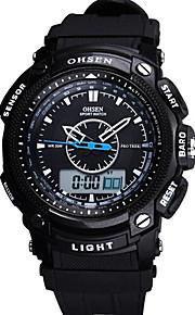 Masculino Relógio Esportivo / Relógio Militar / Smartwatch / Relógio de Moda / Relógio de Pulso Digital / Quartzo JaponêsLED / Cronógrafo