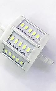 7 R7S LED-kornpærer T 15LED SMD 5730 680LM-800LM lm Varm hvit / Kjølig hvit Dekorativ AC 85-265 V 1 stk.