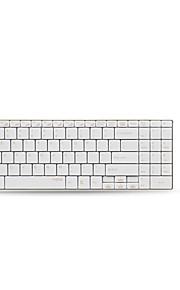 Rapoo trådløs mus tastatur trop 9160 metal multimedie 1000 dpi multimedie tastatur