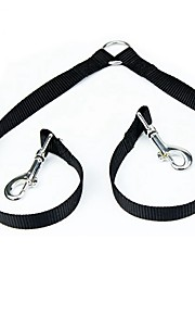 Cat / Dog Leash Adjustable/Retractable / Cosplay / Soft / Running / Casual Solid Red / Black / Blue Nylon
