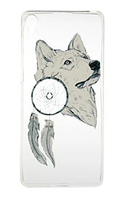 För Transparent / Mönster fodral Skal fodral Djur Mjukt TPU Sony Sony Xperia X / Sony Xperia XA / Sony Xperia E5