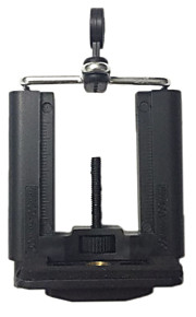 mh-1 professionelle 6-11cm justere mobilt stativ / holder til mobiltelefon