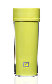 1 Pça. Canecas de Viagem / copo Durável Portátil para Talheres e Copos de Viagem Plástico-Branco Preto Verde