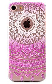 For Etui iPhone 7 / Etui iPhone 7 Plus / Etui iPhone 6 Mønster Etui Bakdeksel Etui Blondedesign Myk TPU AppleiPhone 7 Plus / iPhone 7 /