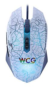 souris de jeu 7 bouton programmable 4000dpi 6 LED couleurs ajust libre - dare-u mise à niveau de wrangler