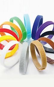 Katter / Hundar Halsband Justerbara/Infällbar / Andningsfunktion / Säkerhet / Mjuk / Fritid Solid Flerfärgad Nylon