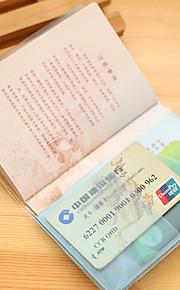 Reise Passholder og ID-holder Reiseoppbevaring Vanntett / Støvtett / Bærbar Plast