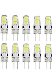 A New Brand Tredet Others 10 Pcs G4 6 led Sme5733 DC12 v 200 lm Warm White Cold White Double Pin Waterproof Lamp Ivory