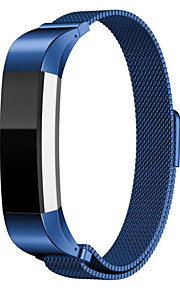 Fitbit alta bandmagnetic stängning spänne mesh band milanese loop stil rostfritt stål armband rem för Fitbit alta