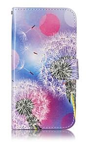 Per A portafoglio / Porta-carte di credito / Fantasia/disegno Custodia Integrale Custodia Dente di leone Resistente Similpelle LGLG X