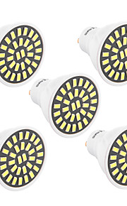 7W GU10 LED-spotpærer T 32 SMD 5733 500-700 lm Varm hvit / Kjølig hvit Dekorativ V 1 stk.