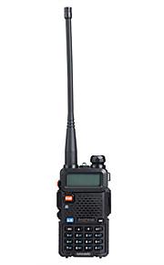 "BAOFENG UV5R 1.5"" LCD 5W 136~174MHz / 400~480MHz Dual Band Walkie Talkie with 1-LED Flashlight (US Plug)"