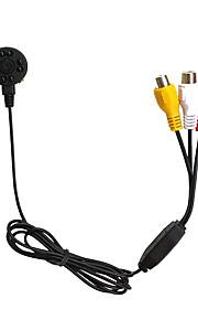 Cmos 600TVL Mini IR 10pcs 940nm Leds Night Vision Camera SPY Camera Pinhole Camera Hidden Camera
