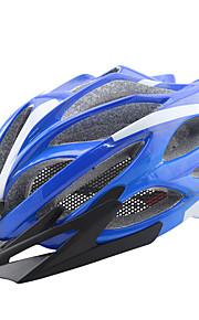 Dam / Herr / Unisex Cykel Hjälm 22 Ventiler Cykelsport Cykling / Bergscykling / Vägcykling / Rekreation Cykling One size PC / epsGul /