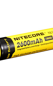 nitecore nl186 2600mAh 3.7v 9.6wh 18650 li-ion akku