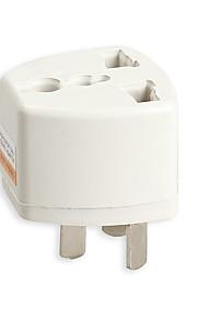 адаптер питания переходника перемещения 3 контактный разъем АС конвертер а.е. штекер зарядного устройства для Австралии конвертера стены