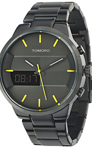 Masculino Relógio Esportivo / Relógio Militar / Relógio Elegante / Relógio de Moda / Relógio de Pulso Digital / Quartzo JaponêsLED /