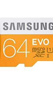 Samsung 64GB Micro SD-kort TF kort minnekort UHS-1 Class10 EVO