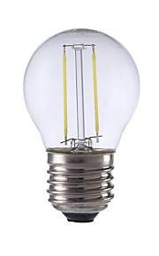2W E26/E27 LED-glødepærer P45 2 COB 250 lm Varm hvit / Kjølig hvit AC 220-240 V 1 stk.