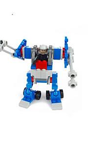 Bonecos & Pelúcias / Blocos de Construir para presente Blocos de Construir Modelo e Blocos de Construção Guerreiro / Robô ABS5 a 7 Anos /