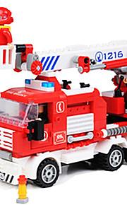 Bonecos & Pelúcias / Blocos de Construir para presente Blocos de Construir Modelo e Blocos de Construção Caminhão ABS5 a 7 Anos / 8 a 13