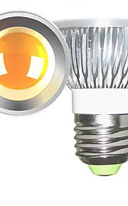 5W E26/E27 LED-spotpærer 1 COB 600 lm Varm hvit / Kjølig hvit Dimbar AC 220-240 / AC 110-130 V 2 stk.