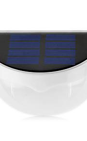 fargerike 6led solenergi lys vanntett IP55 solenergi lampe utendørs vegglamper med lysregulering for hjem og hage dekorasjon