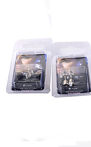 2 par glød ørering ruinene av femkantet stjerne ørering stud øredobber diamond stud øredobber nattlys til en lav pris