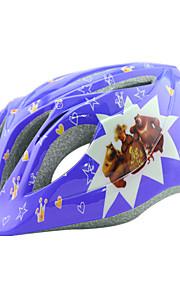 Børn Bike Hjelm 14 Ventiler Sykling Sykling / Fjellsykling / Veisykling / Fritidssykling / Skøyte En størrelse PC / EPS Rosa / Blå